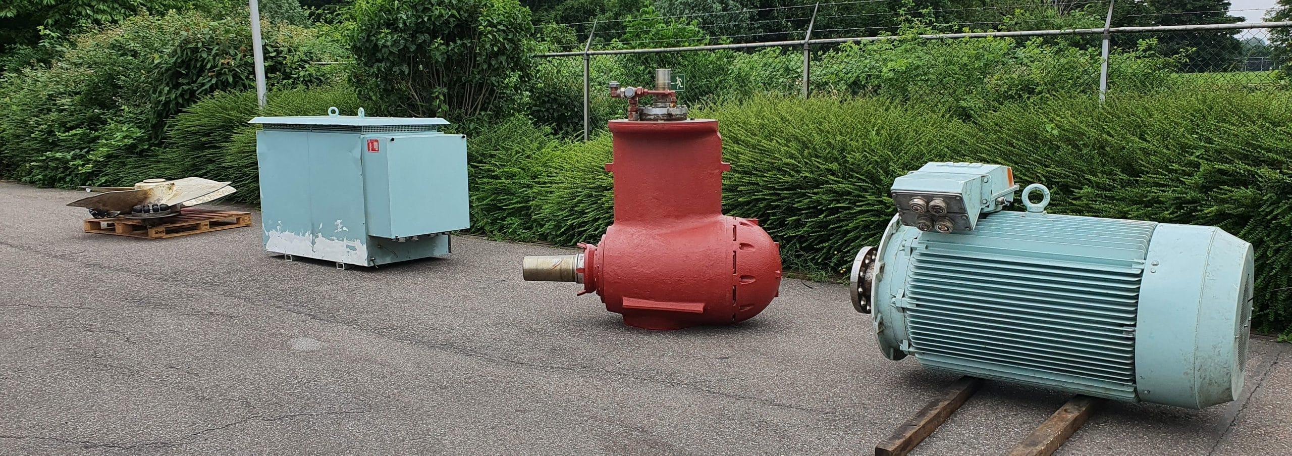 Parts & used equipment